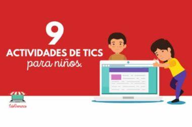 Actividades de computacion para niños de 3 a 5 años.