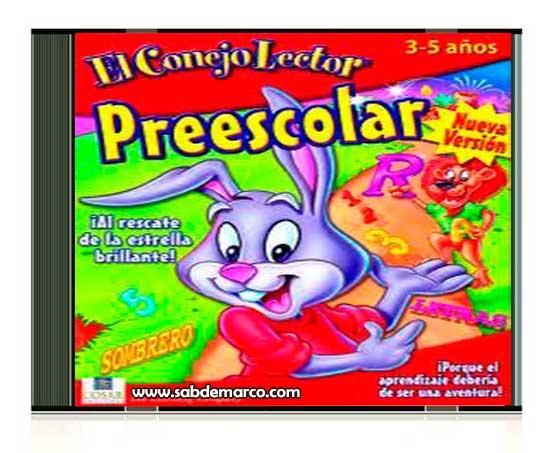 el conejo lector preescolar