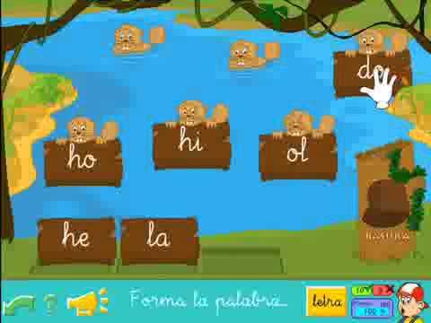 aprende a leer con pipo I las silabas