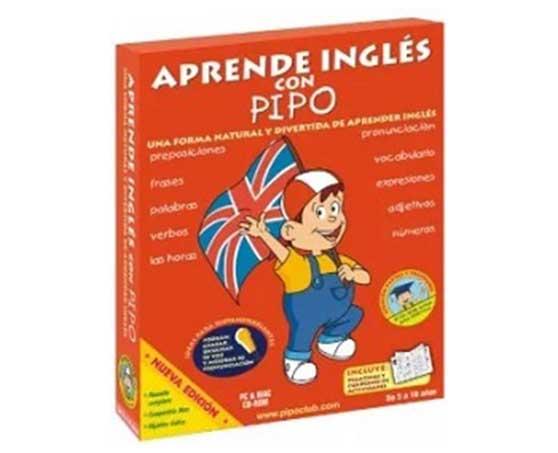 aprende ingles con pipo - tapa