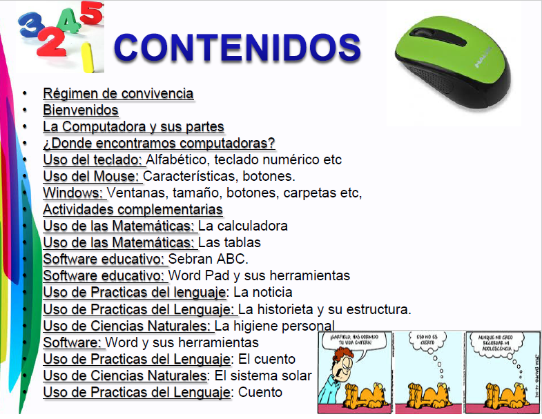 contenidos-del-libro-de-informatica-3er-grado-sabdemarco clases de computacion para niños