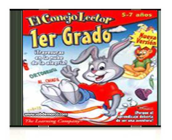 conejo lector primer grado