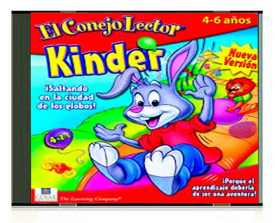 el conejo lector kinder