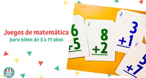 juegos de matemática para niños