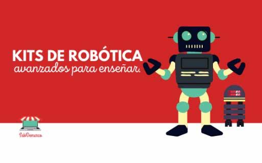 kits de robótica avanzados para enseñar
