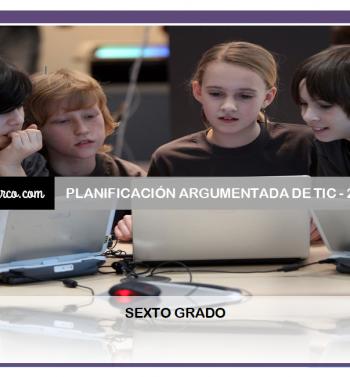 planificacion TIC 6to grado
