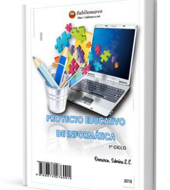 proyecto educativo de informatica 1 ciclo