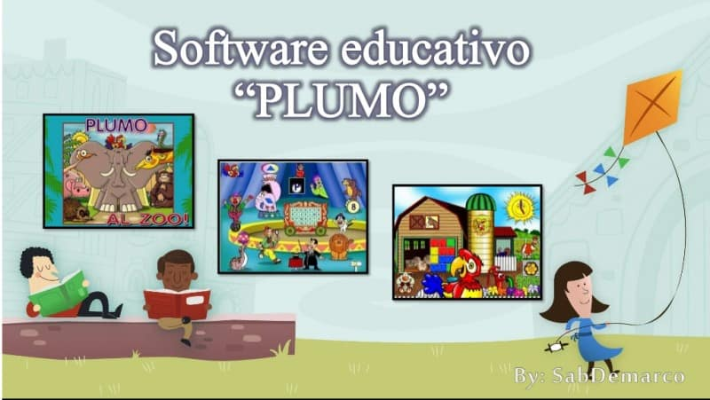 Software educativo para niños parte II